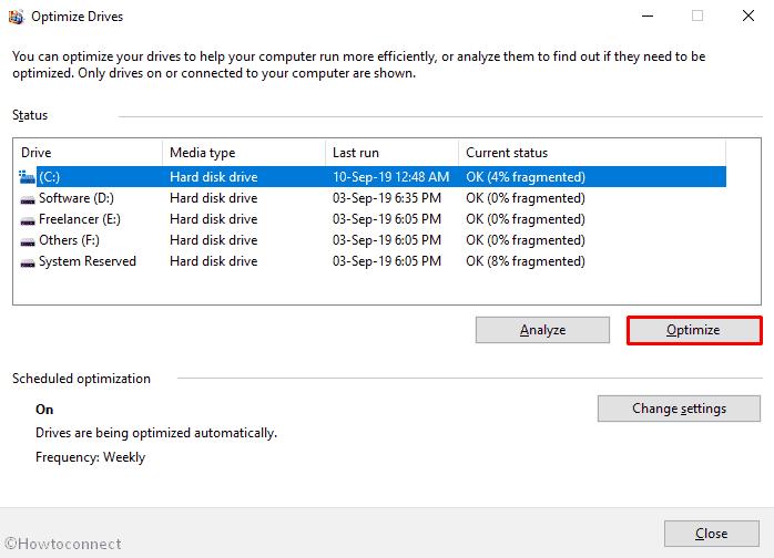 15 Ways to Defrag Computer in Windows 10 image 3