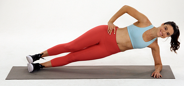 side plank- best core exercises