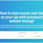 Comparium : Automated Wesbite Testing Tool