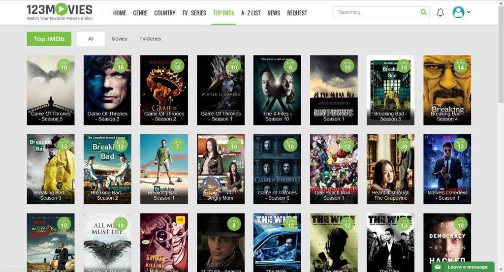 123Movies Proxy, Alternative & Mirror site to unblock 123Movies