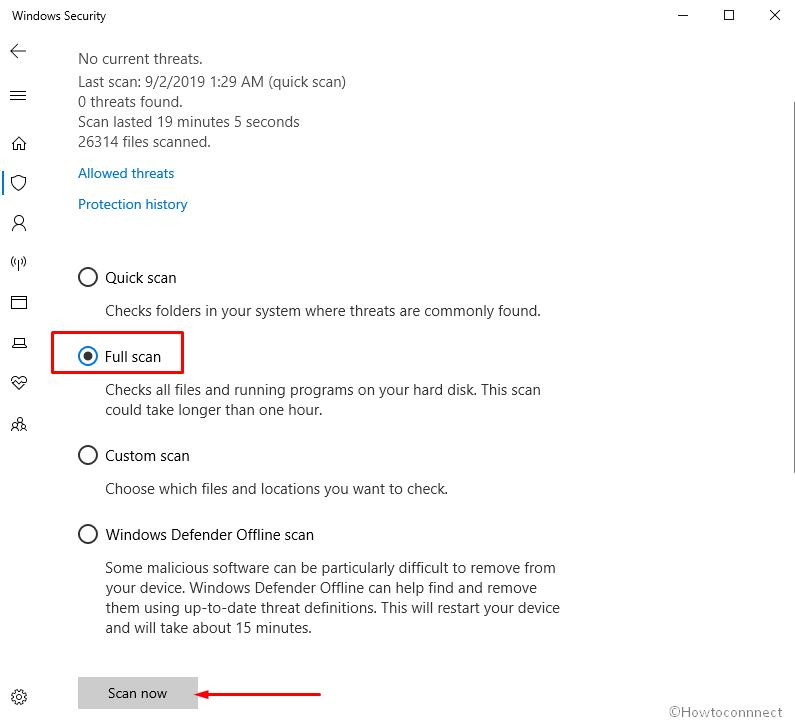 Fix PROFILER_CONFIGURATION_ILLEGAL Error in Windows 10 - Image 3