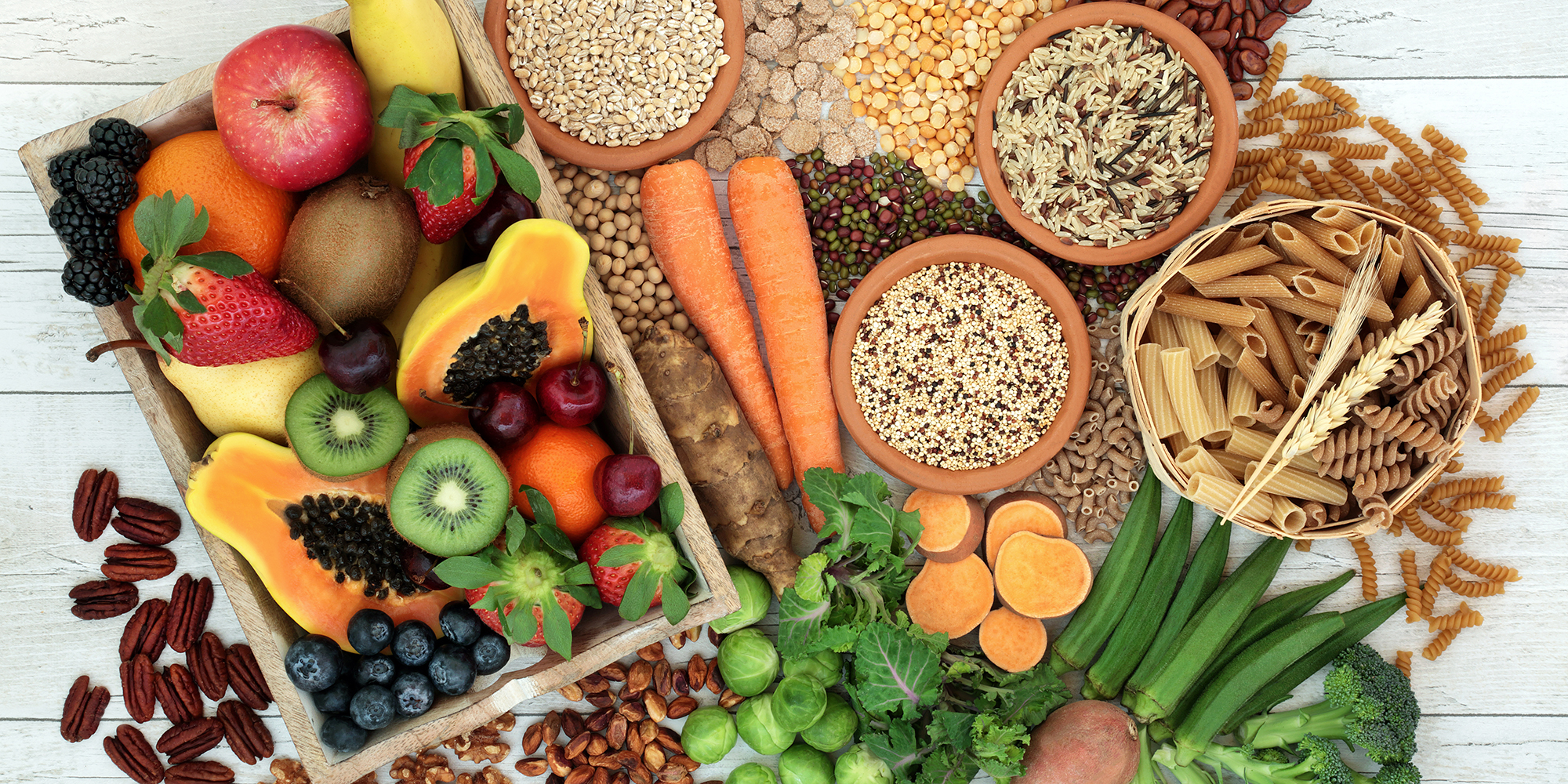 high fiber foods diet plan | fruits vegetables grains