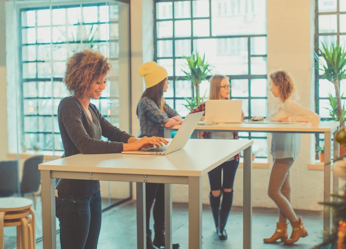 standing desks- perfect posture