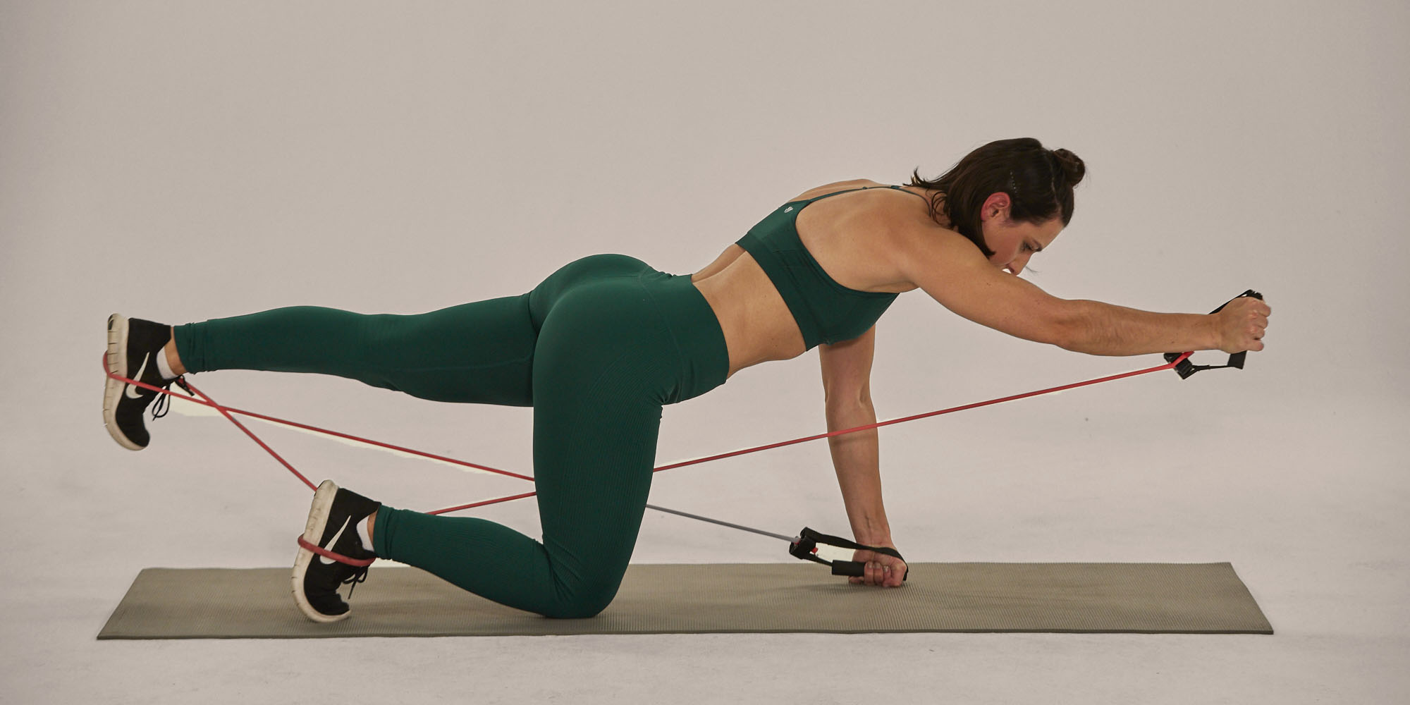 bird dog- best core exercises