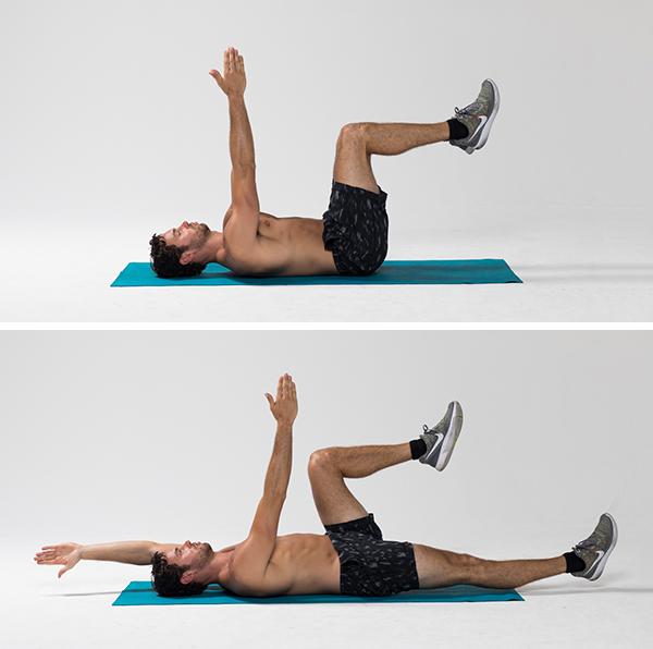 deadbug- best core exercises