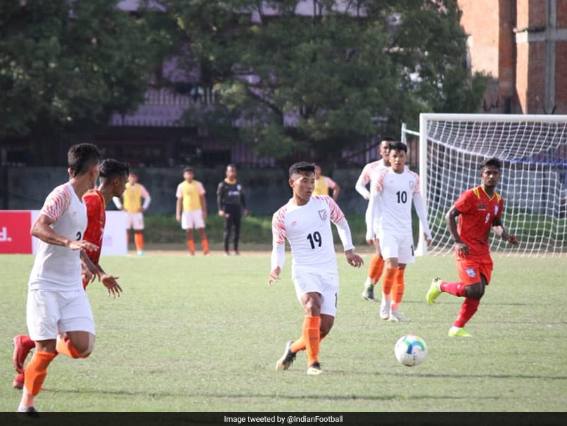 SAFF U-18 Championship: India Held To A Goalless Draw By Bangladesh