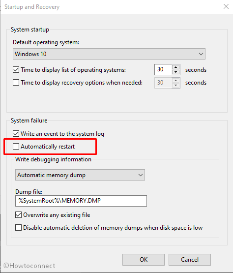 SECURE_FAULT_UNHANDLED Error in Windows 10