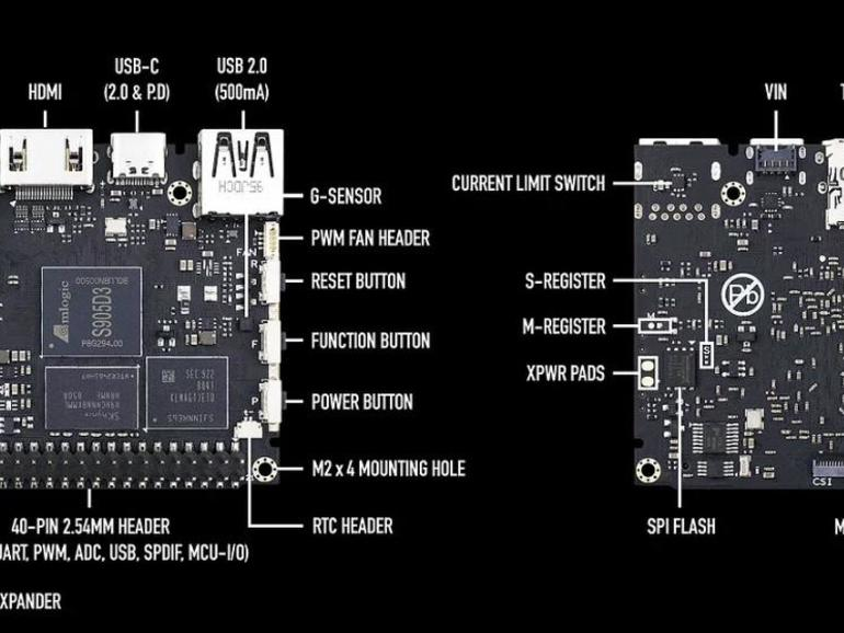 This $60 Raspberry Pi 4 rival runs Android 9, plays 4K video, and has an AI accelerator
