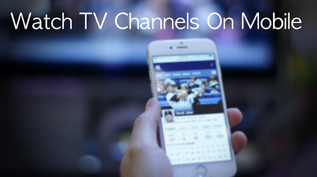 Tv app for mobiles
