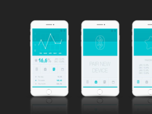 Thermometer App For Android and iOS.