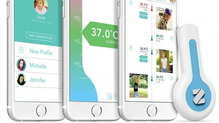 Thermometer App For Android and iOS