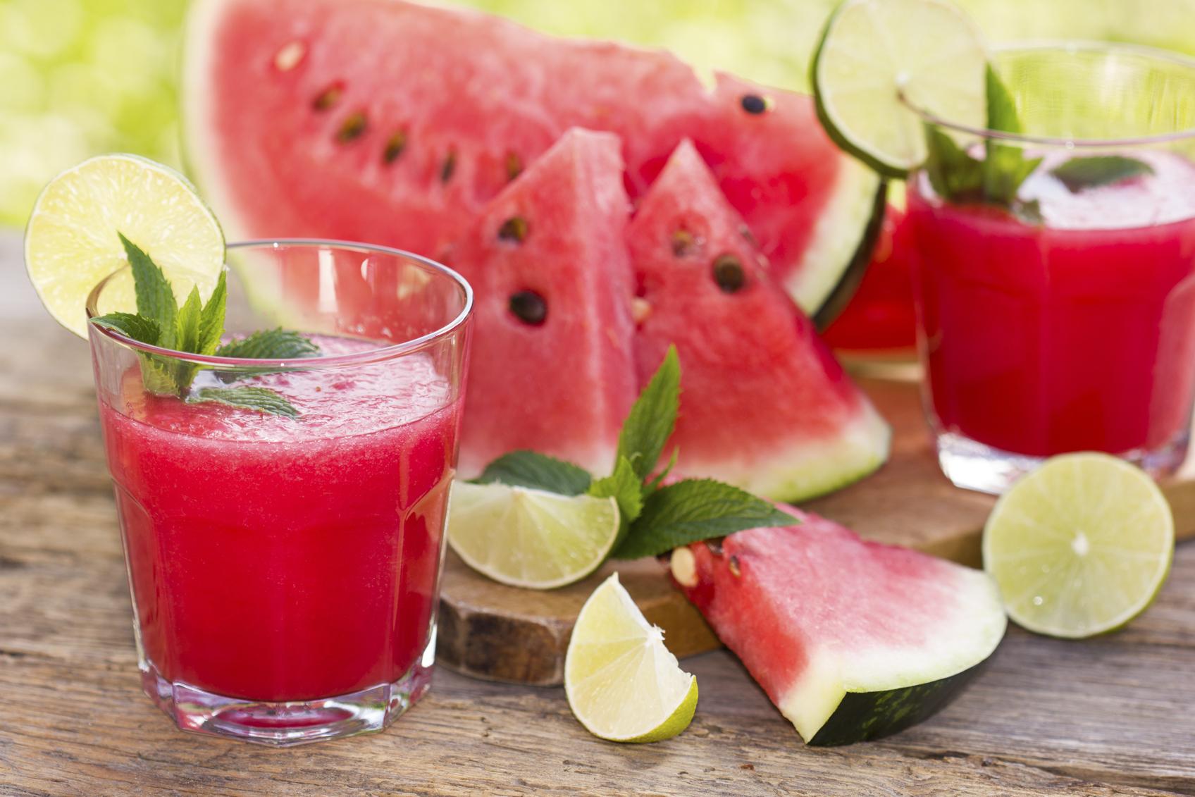 Watermelon Juice Best As Summer Drink
