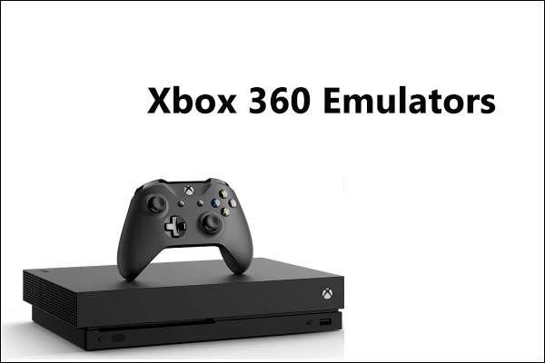 Xbox Emulators for Windows PC
